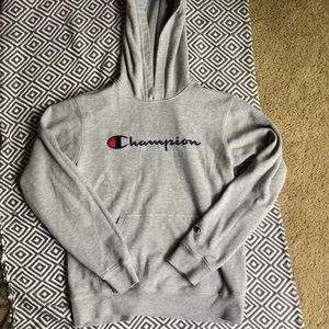 Champion hoodie size XL youth